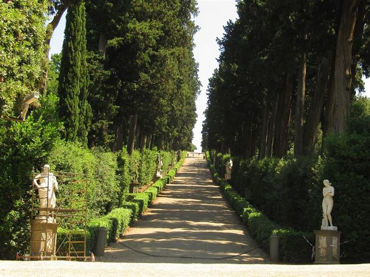 jardín, jardines, Europa, bello