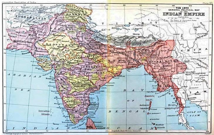 Británicos, Inglaterra, Indía, Compañía, Historia