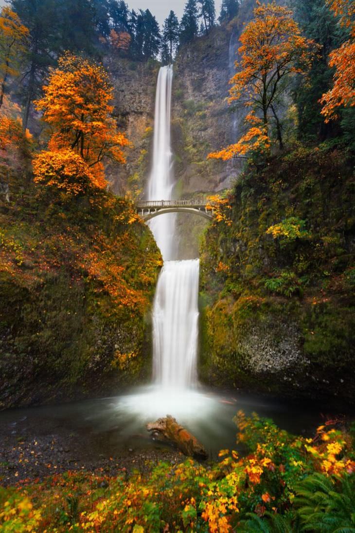 Estados Unidos cascadas espectaculares