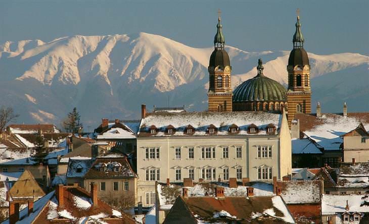 Localidades encantadoras Rumanía