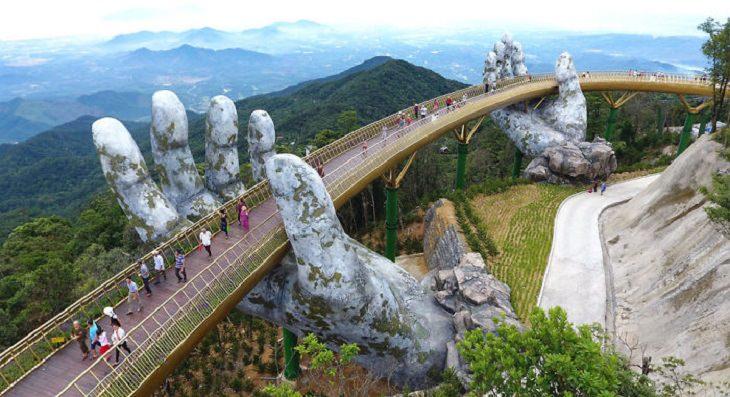 puente Vietnam Impresionante