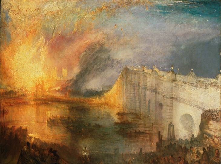 cuadros de J.M.W. Turner