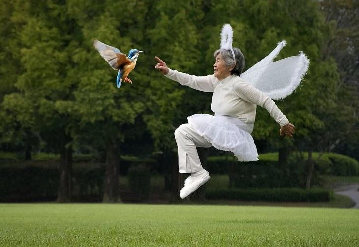 abuela japonesa