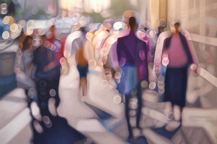 10 pinturas que muestran la realidad de un miope