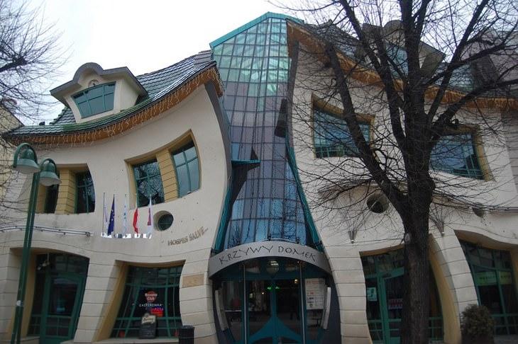 20 extraños edificios construidos