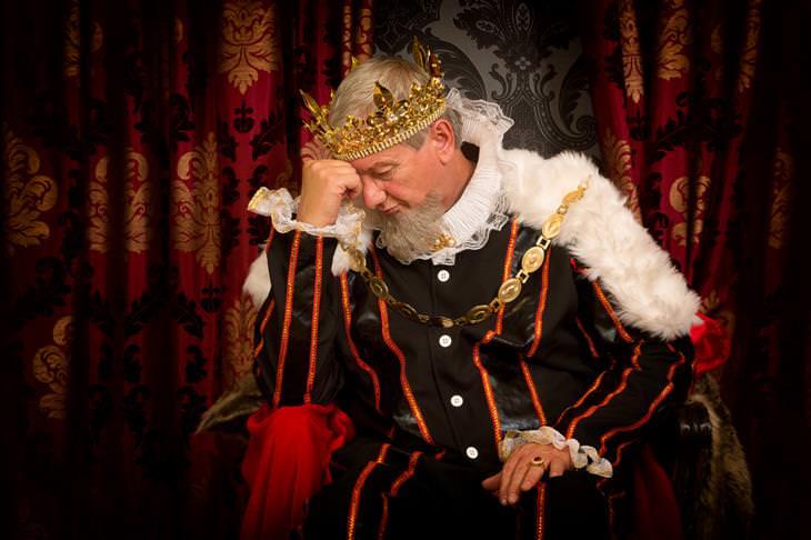 cuento rey triste sirviente feliz