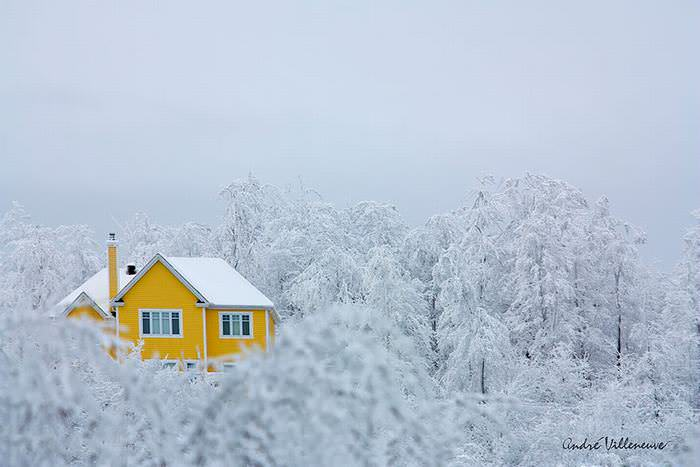 casas invierno