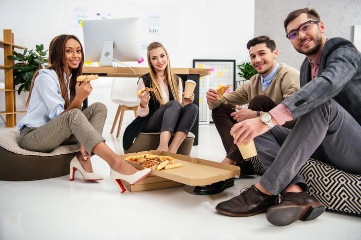 tips comer sano en el trabajo