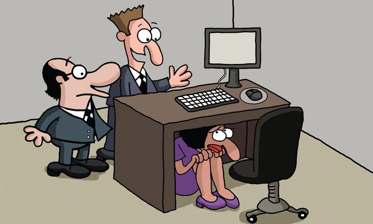 chiste oficina