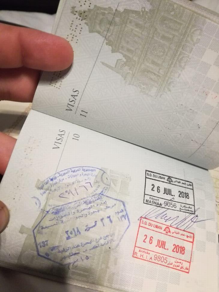 blogger de viajes visita Siria