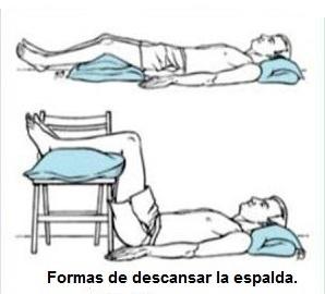 Aliviar dolor de espalda