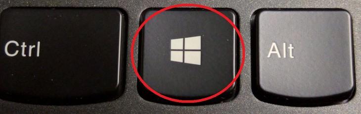 uso s tecla windows