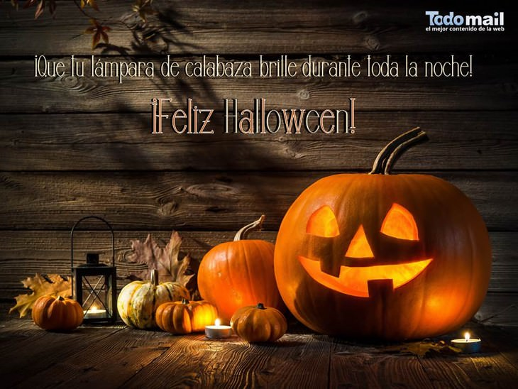 tarjetas de halloween calabaza
