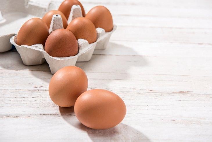 7 alimentos más proteínas huevo