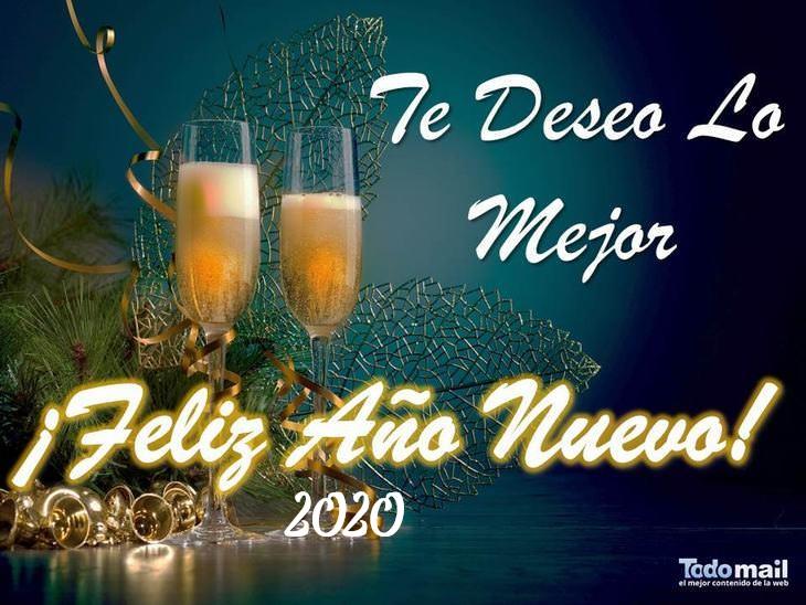 tarjetas año nuevo 2020