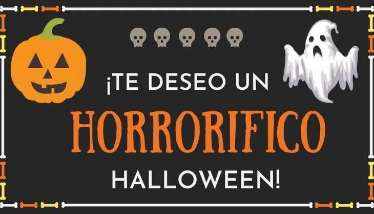 tarjetas de halloween te deseo un feliz halloween