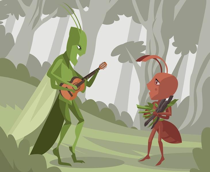la hormiga arrepentida