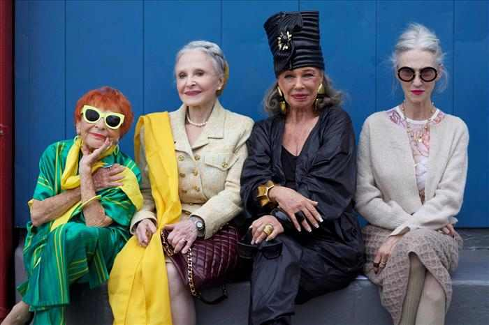 Abuelas a la moda