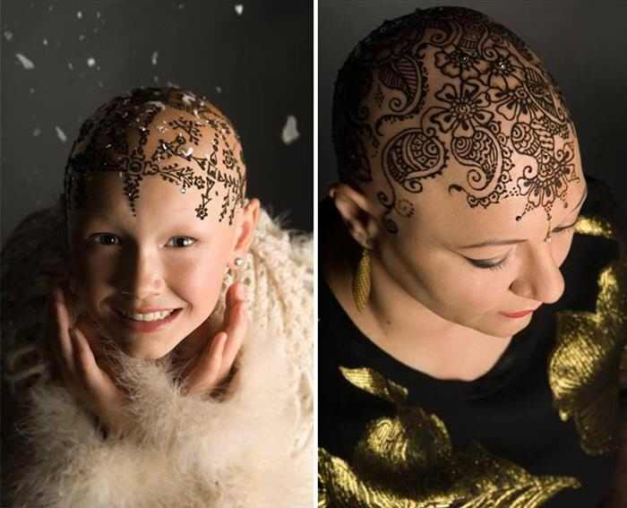 Coronas de henna