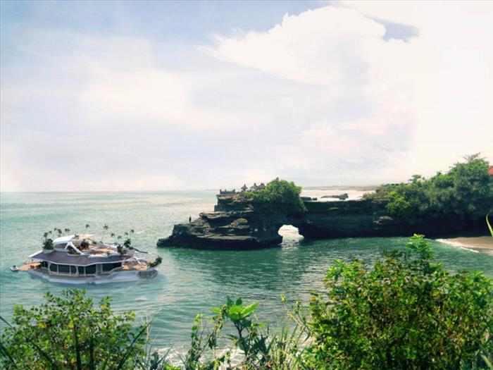Isla motorizada