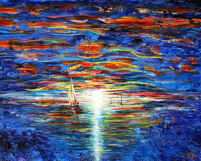 pintor ciego