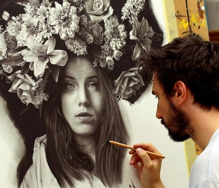 El Arte Hyper-realista De Emanuele Dascanio