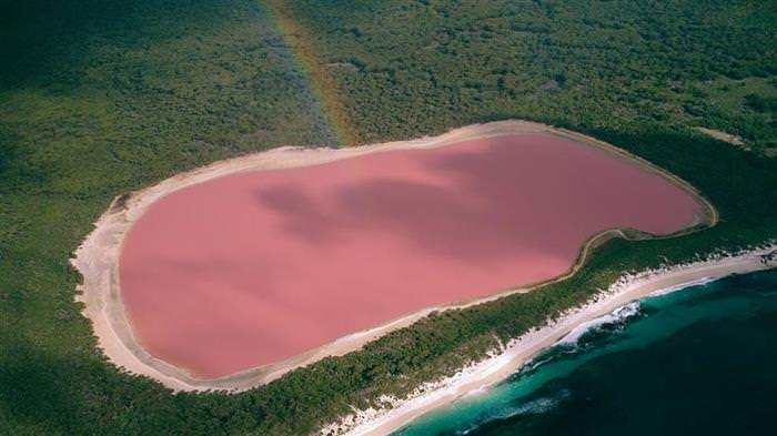 Lagos rosados