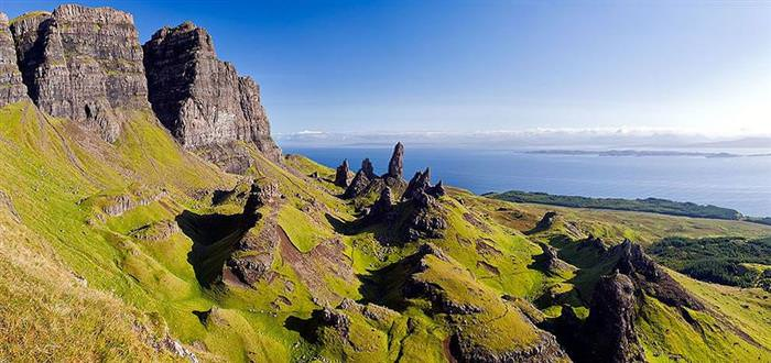 Isla De Skye Escocesa