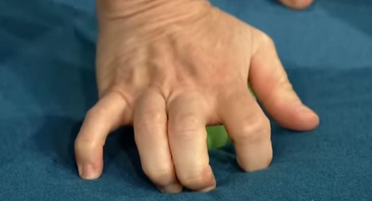 punto de presion manos