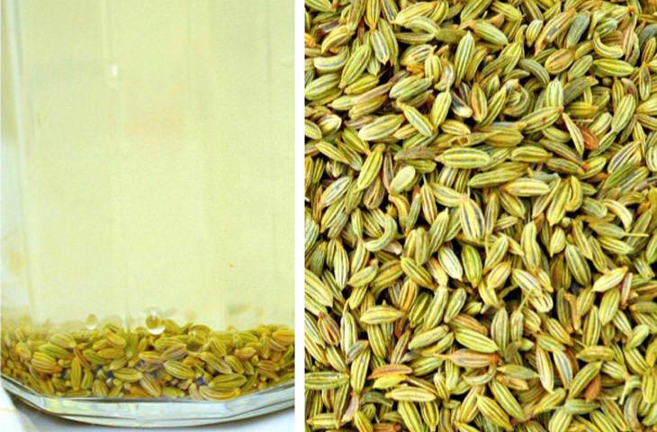 agua de semillas de hinojo