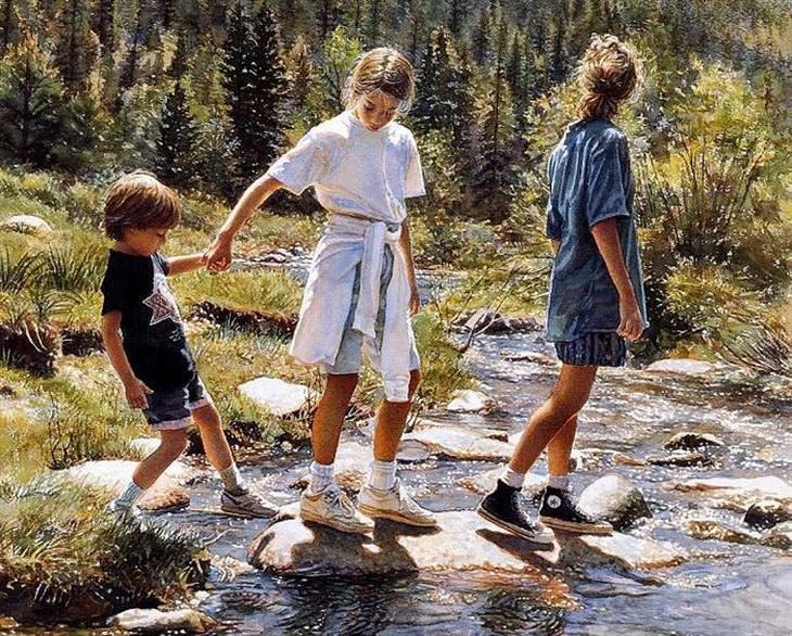 pinturas de Steve Hanks