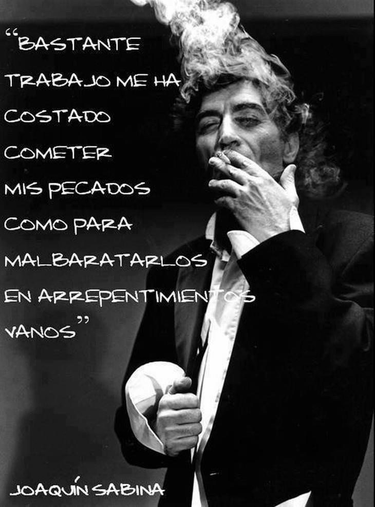 Frases Joaquín Sabina Arte