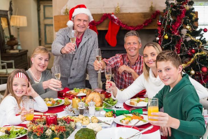 mesa navidades