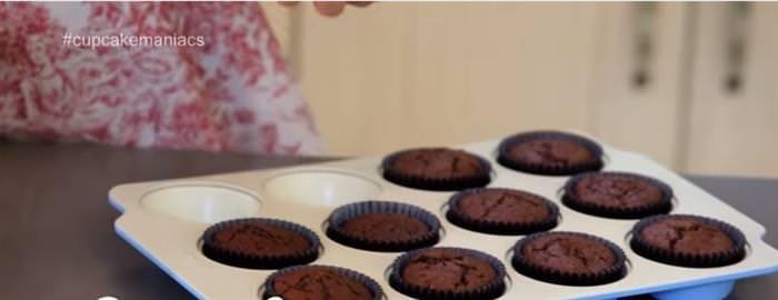 Cupcakes De Chocolate Sin Leche y Sin Huevo