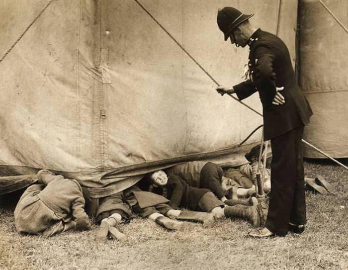 Fotos Históricas Capturadas En El Momento Exacto