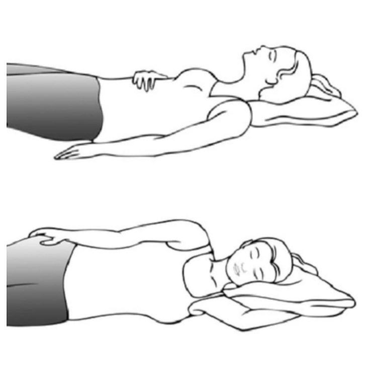 posiciones para dormir y bajar de peso