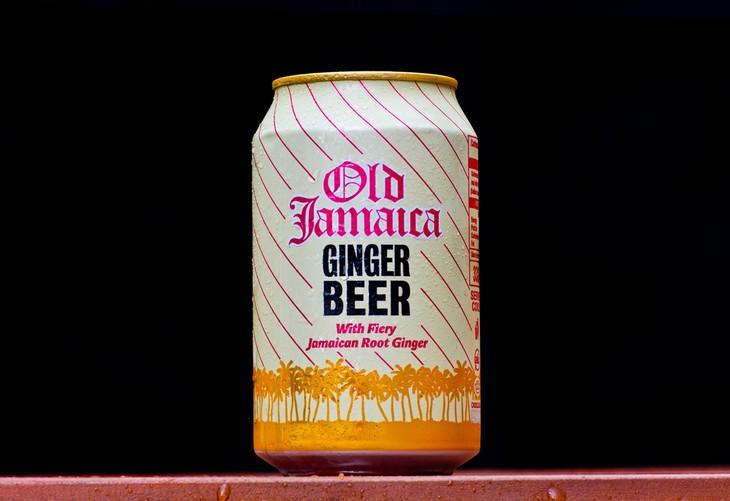 cerveza y refresco de Jengibre