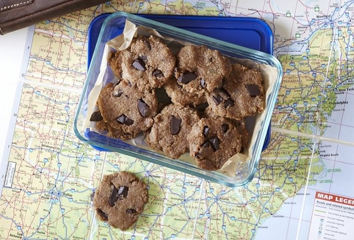 cookies de Crema De Cacahuete Sin Horno