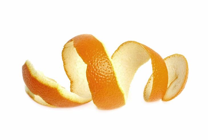 usos pieles naranja