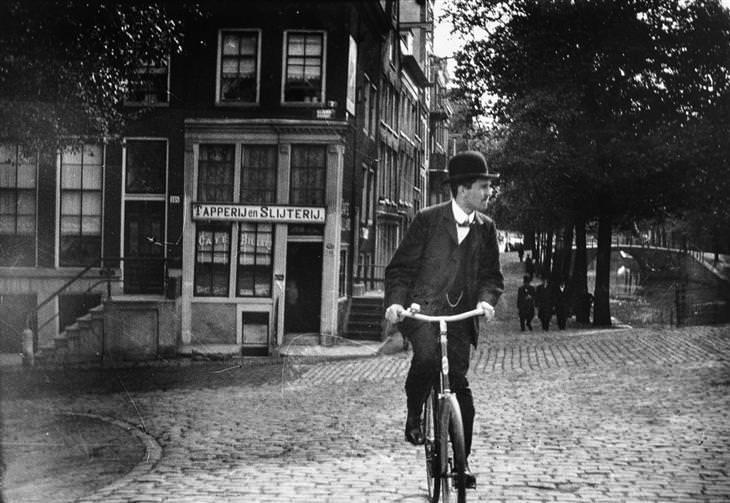 Ámsterdam Hace 100 Años
