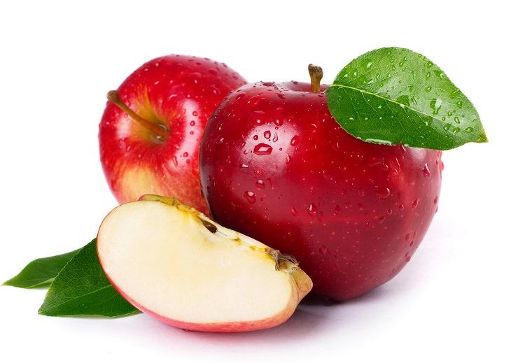 10 pieles frutas y verduras manzanas
