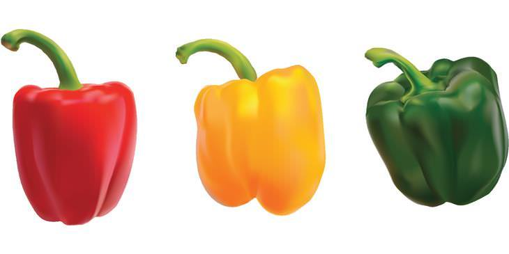 Colores de los vegetales