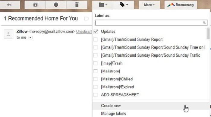guía correo gmail