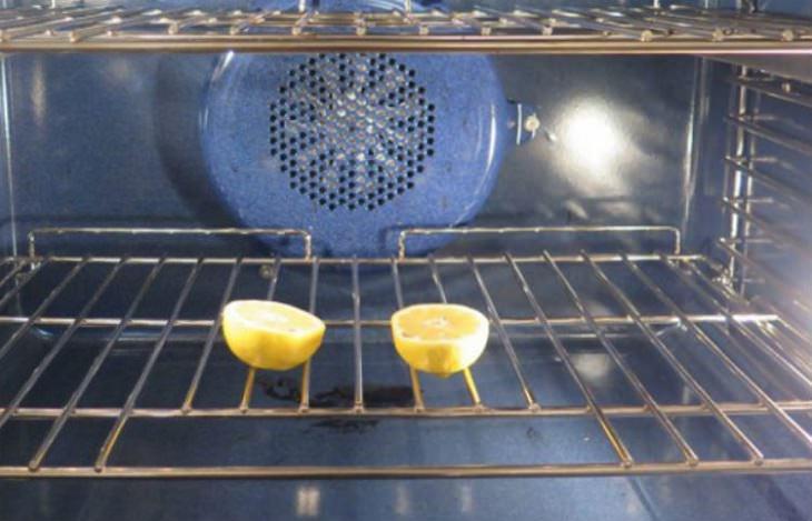 limones y horno para eliminar plagas