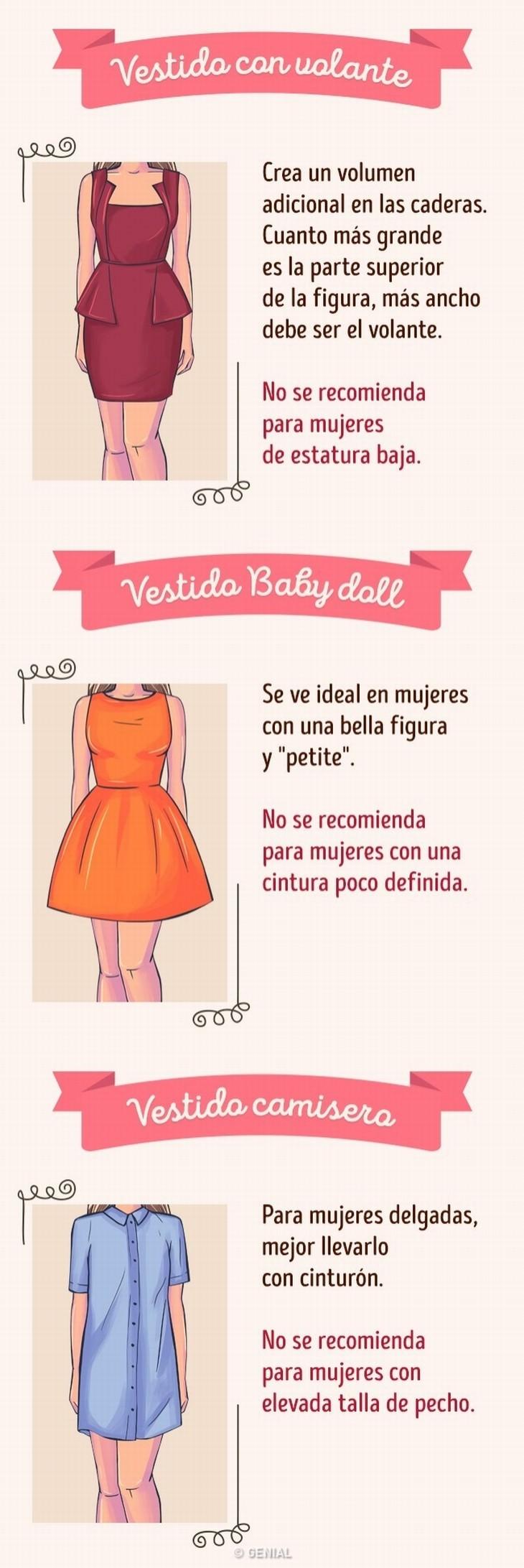 vestido ideal según tu figura