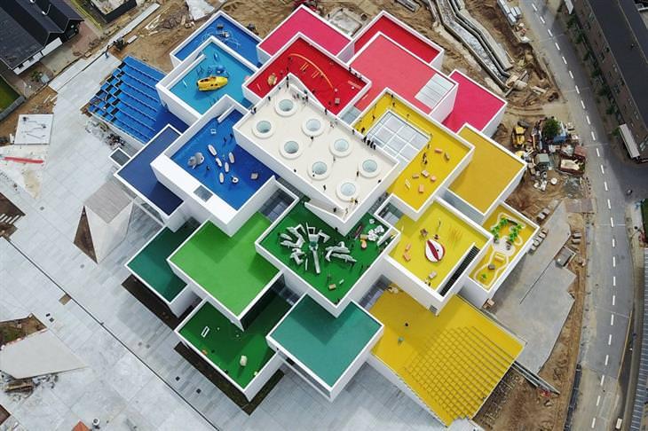 edificios espectaculares La casa de Lego - Billund, Dinamarca