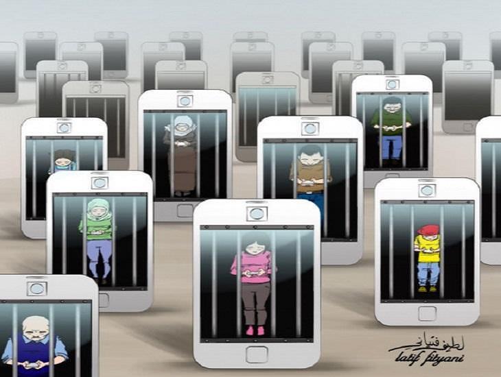 Dependencia celulares