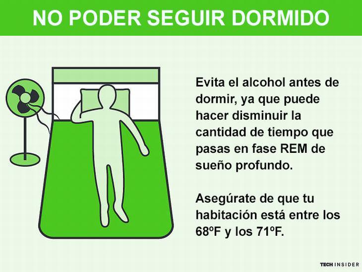 consejos dormir