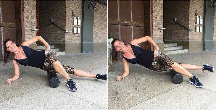 ejercicios bandas Iliotibiales