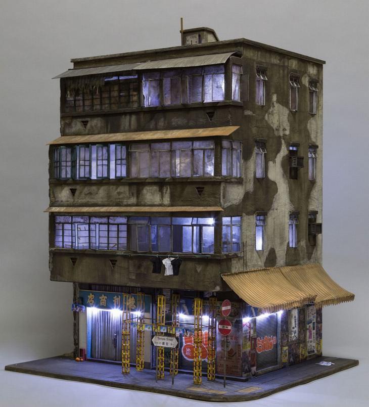 escultura casa urbana